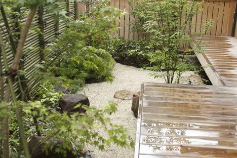 和風庭園施工後の写真