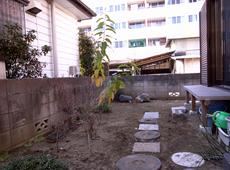 和風庭園 施工前 写真