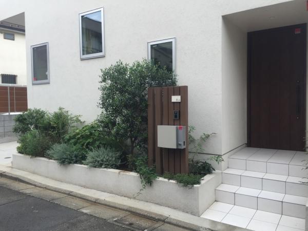 桜新町 花壇