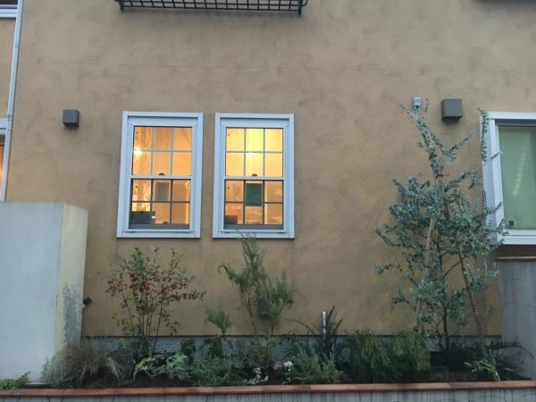 和田邸 花壇